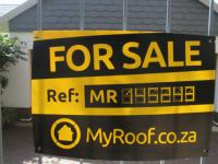 Sales Board of property in Westdene
