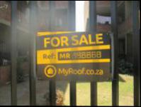 Sales Board of property in West Turffontein
