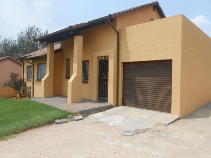 Standard Bank Insolvent 3 Bedroom House for Sale For Sale in Ormonde - MR146788