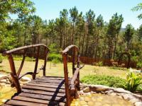 Garden of property in Knysna