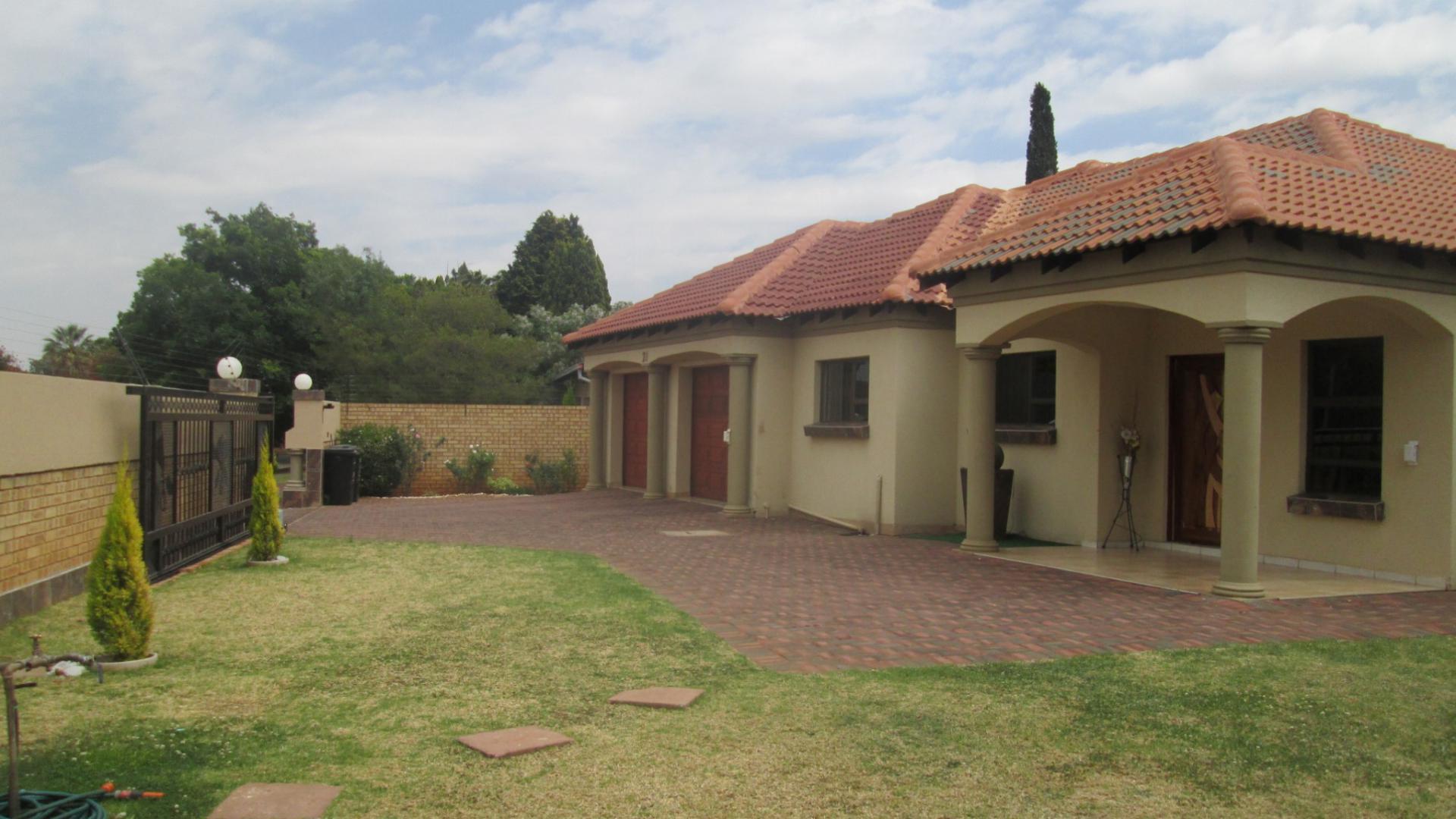 Garden of property in parkrand