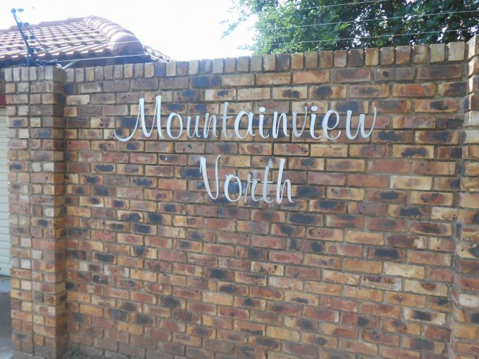 Standard Bank EasySell 2 Bedroom House for Sale in Wilgeheuwel  - MR150319