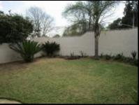 Backyard of property in Bryanston West