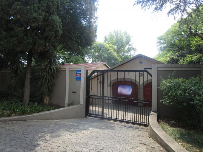 Standard Bank EasySell 4 Bedroom House for Sale in Randburg - MR154111