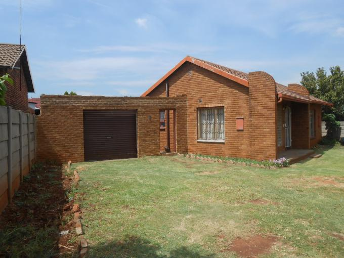 Standard Bank EasySell 3 Bedroom House for Sale For Sale in Germiston - MR154469