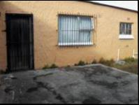 Backyard of property in Mitchells Plain