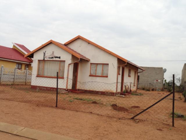 Standard Bank Repossessed 2 Bedroom House for Sale on online auction in Evaton - MR15510