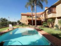 Backyard of property in Waterkloof Ridge