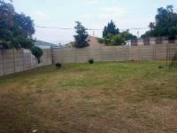 Backyard of property in Ottery