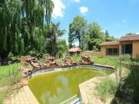 Backyard of property in Weltevreden Park