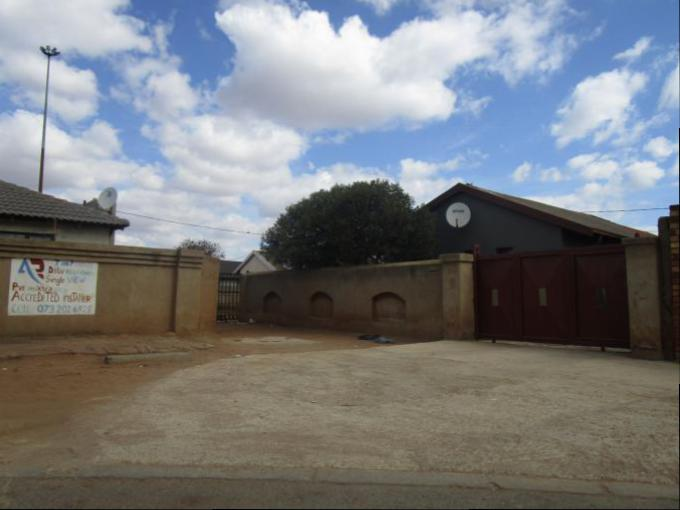 Standard Bank EasySell 3 Bedroom House for Sale For Sale in Dobsonville - MR160337