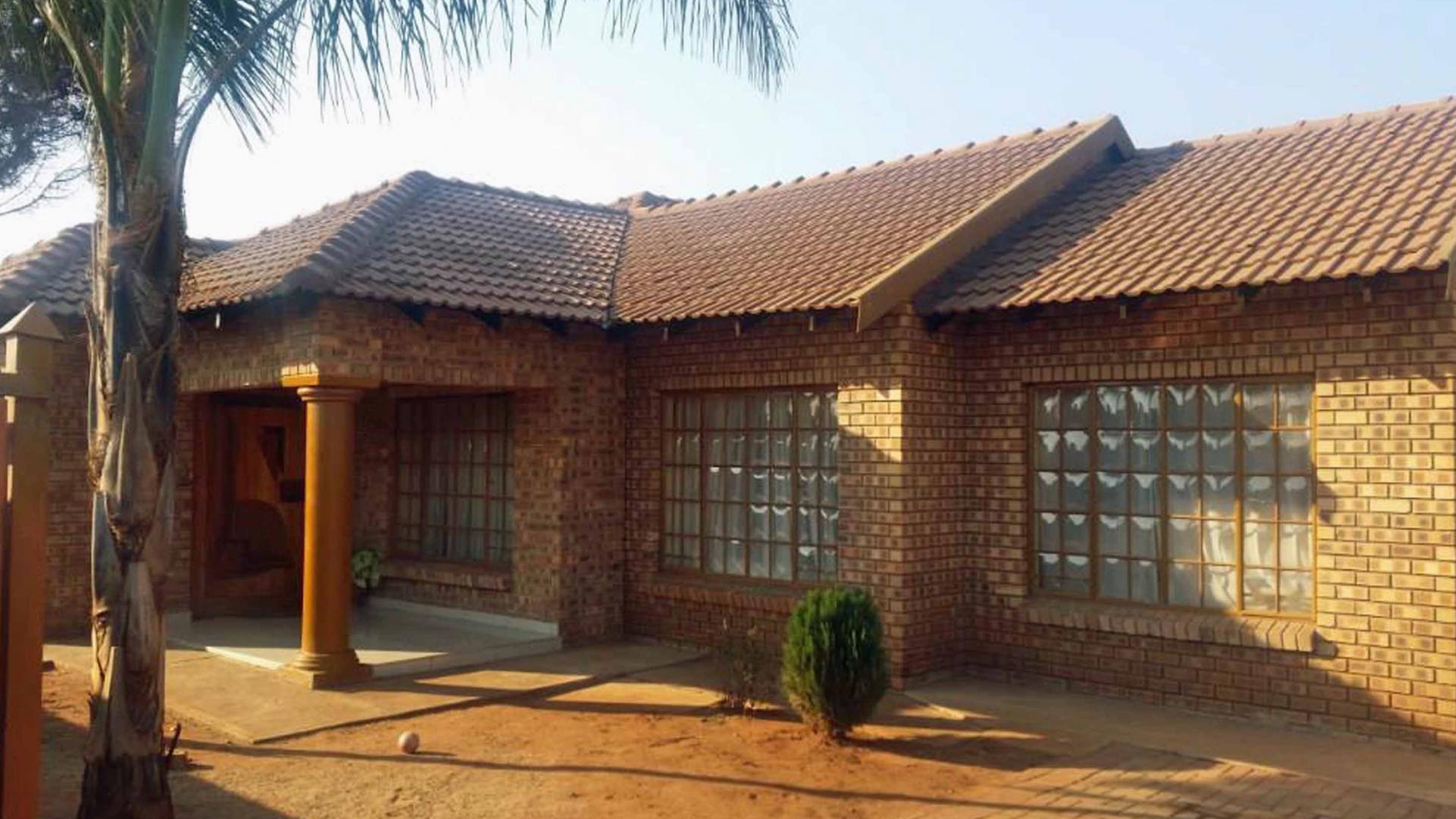 4 Bedroom House For Sale For Sale In Mokopane