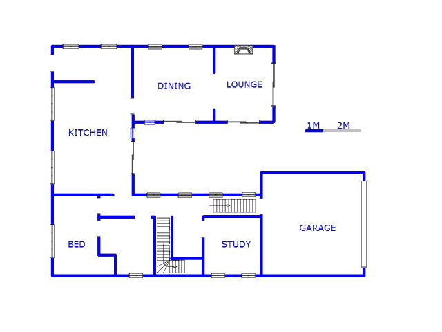 Floor plan of the property in Pinehaven
