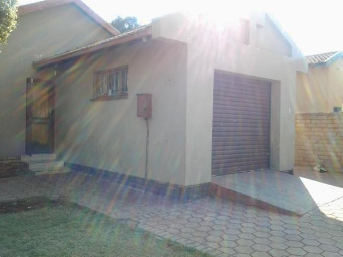 Standard Bank EasySell 3 Bedroom House for Sale in Soshanguve - MR161732