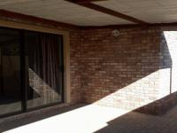 Patio of property in Potchefstroom