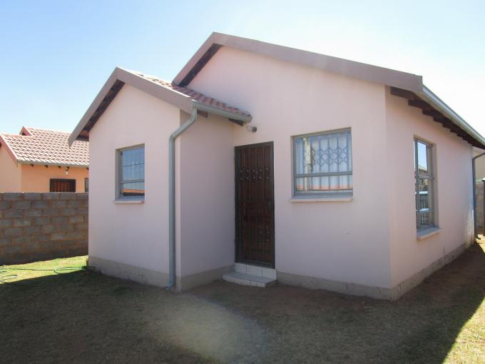 Standard Bank EasySell 2 Bedroom Cluster for Sale in Fleurhof - MR162675