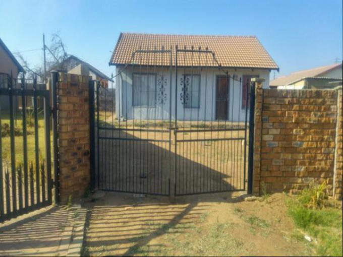 Standard Bank EasySell 3 Bedroom House for Sale For Sale in Kwa-Thema - MR164300
