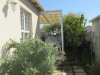 Backyard of property in Sunningdale - CPT