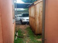 Backyard of property in Newlands - JHB