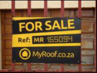 Sales Board of property in Lenasia