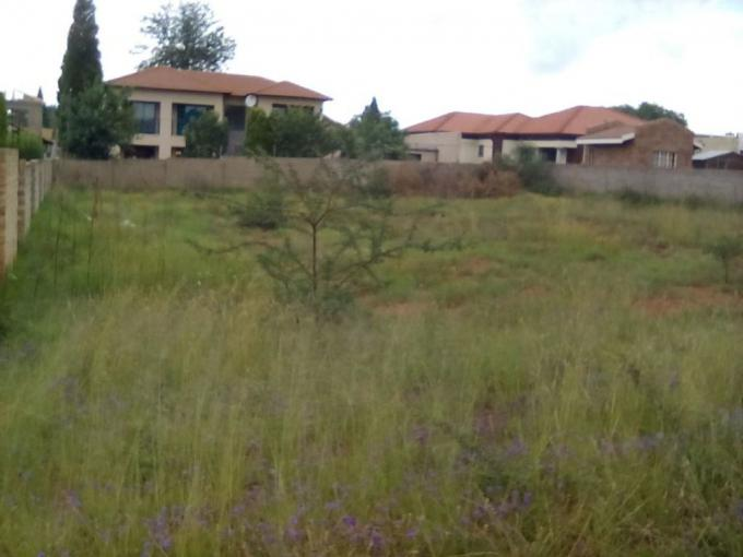 Land for Sale For Sale in Vanderbijlpark S. E. 4 - MR171576