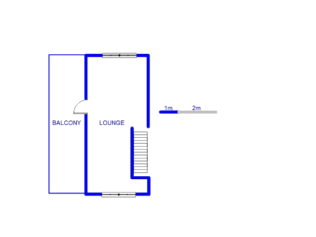 Floor plan of the property in Sunninghill