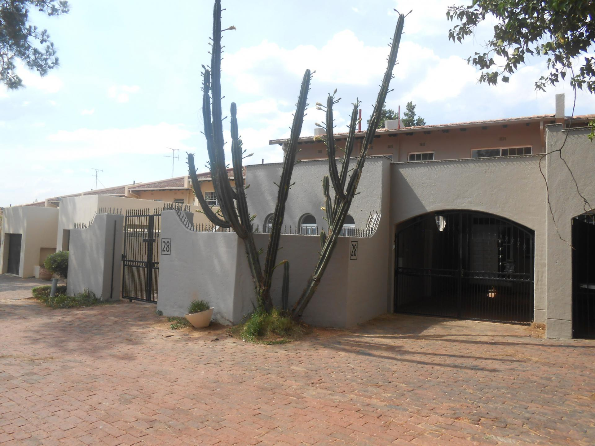 Front View of property in Sandton