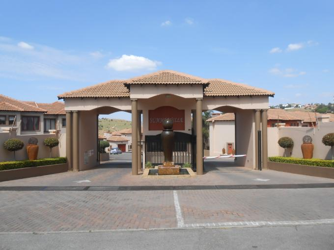 2 Bedroom Duplex for Sale For Sale in Krugersdorp - Private Sale - MR183280