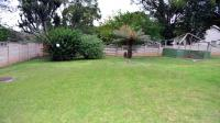 Backyard of property in Lincoln Meade