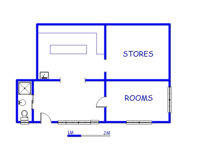 Floor plan of the property in Astra Park