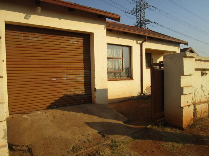 Standard Bank EasySell 3 Bedroom House for Sale For Sale in Vosloorus - MR187771