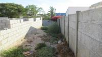 Backyard of property in Saldanha