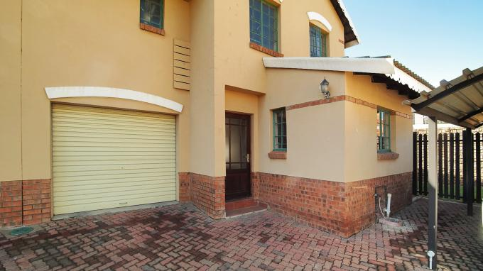 Standard Bank EasySell 3 Bedroom Sectional Title for Sale For Sale in Emalahleni (Witbank)  - MR192329