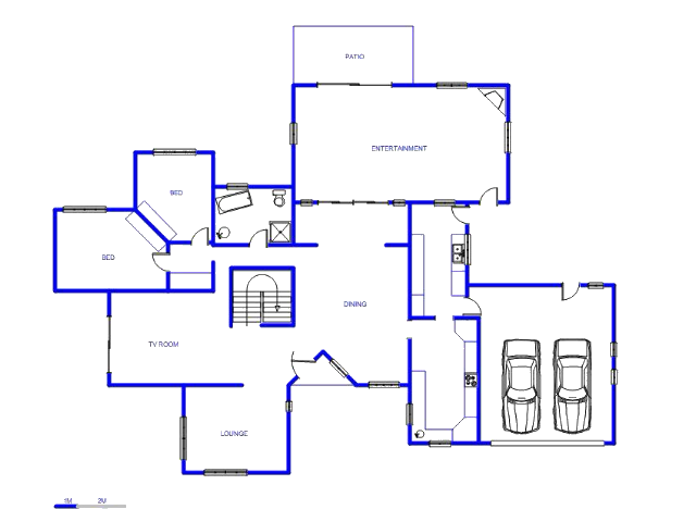 Floor plan of the property in Heatherdale