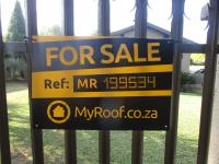 Sales Board of property in Vaalpark