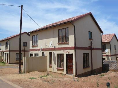 Standard Bank Repossessed 2 Bedroom House on online auction in Lotus Gardens - MR20495