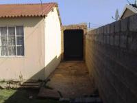 Backyard of property in Kwa Nobuhle