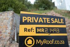 Sales Board of property in Fish Hoek