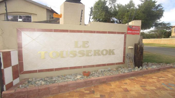 Standard Bank EasySell 3 Bedroom Sectional Title for Sale in Willowbrook - MR215142