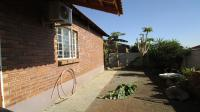 Backyard of property in Waterval East