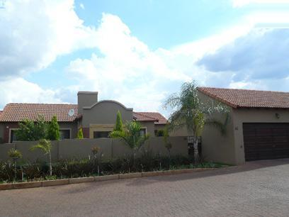 3 Bedroom Cluster for Sale For Sale in Eco-Park Estate - Private Sale - MR22451
