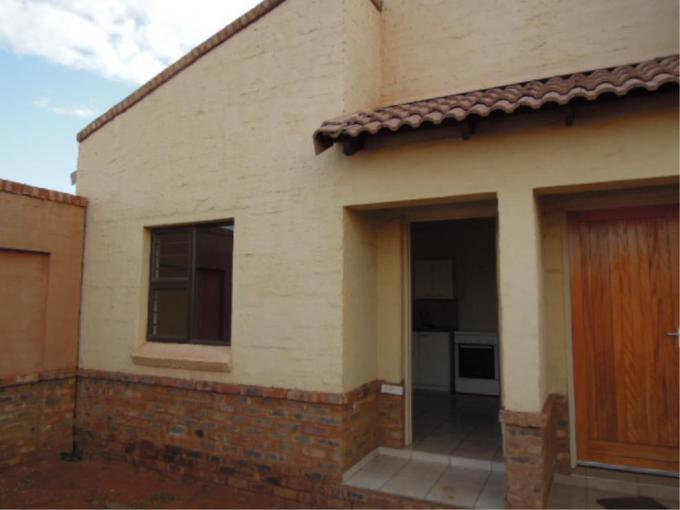 2 Bedroom Duet for Sale For Sale in Kathu - MR225078