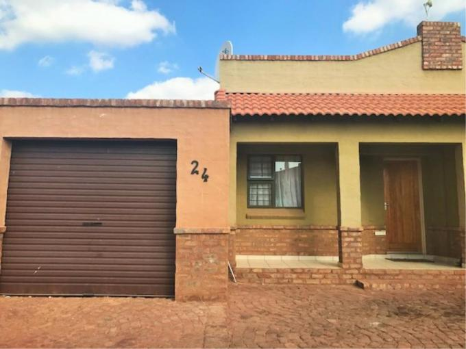 2 Bedroom Duet for Sale For Sale in Kathu - MR225086