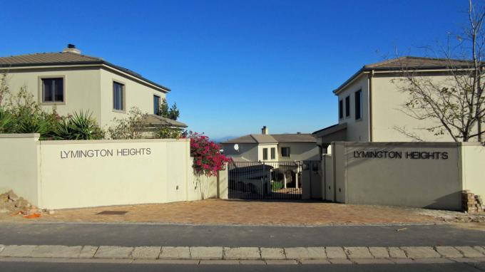 Standard Bank EasySell 3 Bedroom Cluster for Sale in Somerset West - MR228001