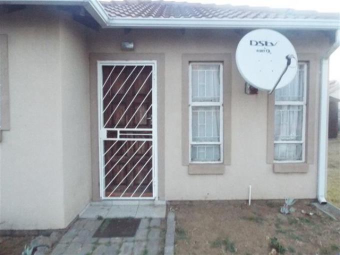 Standard Bank EasySell 2 Bedroom Cluster for Sale For Sale in Emalahleni (Witbank)  - MR231623