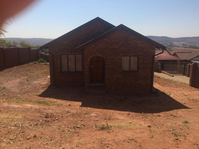 3 Bedroom House for Sale For Sale in Atteridgeville - MR237724