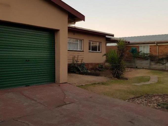 Standard Bank EasySell 3 Bedroom House for Sale in Bethal - MR262000