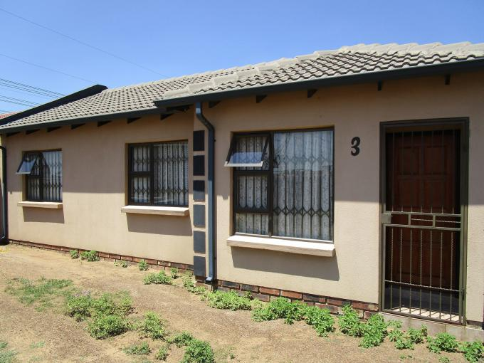 Standard Bank EasySell 3 Bedroom House for Sale For Sale in Vereeniging - MR264490