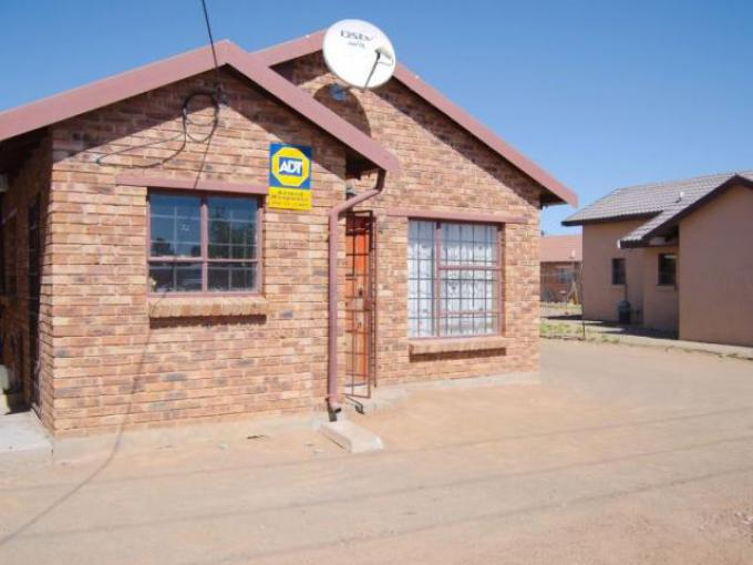 Standard Bank EasySell 2 Bedroom House for Sale in Grasslands - MR294694