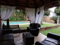 Patio of property in Richards Bay